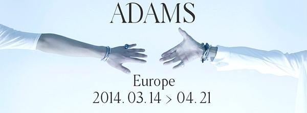 adams tour 2014