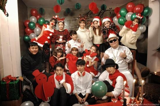 chrome_entertainment_crayonpop_bobgirls_kmuch_zanzan_love_christmas