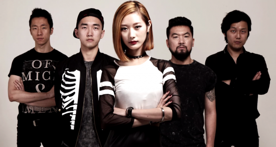 Messgram 2015: Yushik (guitar), Seth (bass), Jiyoung (vocals), Soojin Lee (drums), Jahnny (prog. / vocals)